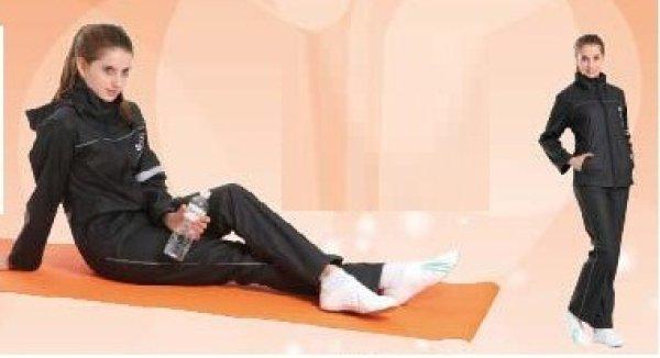 画像1: ナイロン製サウナスーツ (1)